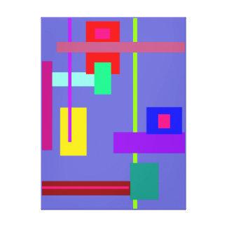 Simplistic Minimal Wall Art Gallery Wrap Canvas