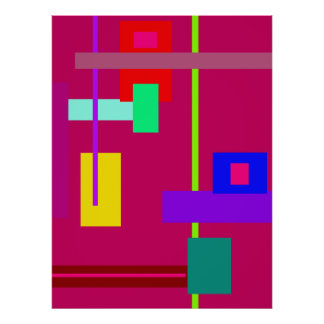 Simplistic Minimal Wall Art Poster