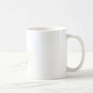 Simplistic White Zinnia Coffee Mug