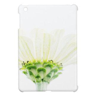 Simplistic White Zinnia iPad Mini Covers