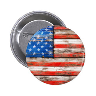 Simply American 6 Cm Round Badge