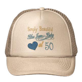 Simply Beautiful 50th Birthday Cap