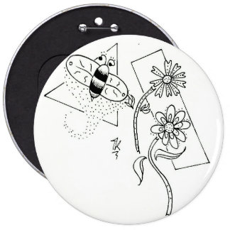 Simply_Because Dusty Bee Button