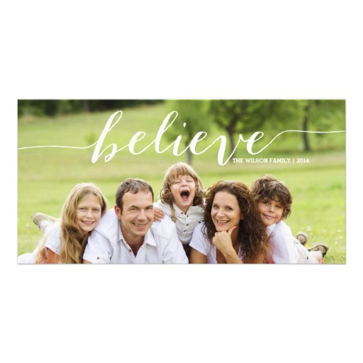 Simply Believe | 2014 Holiday Photo Card