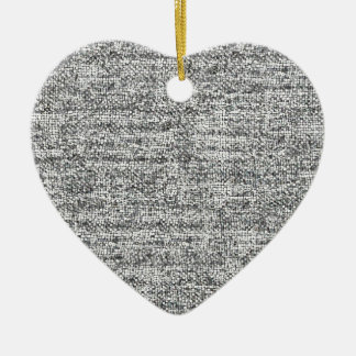 Simply Black and White Ceramic Heart Decoration