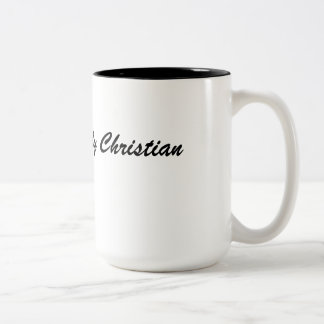 Simply Christian Two-Tone Coffee Mug