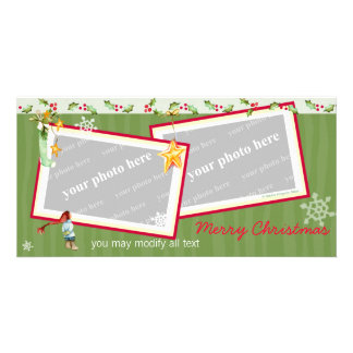 Simply Christmas Photo Greeting Card
