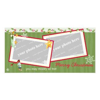 Simply Christmas Photo Greeting Card