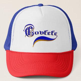 SIMPLY COVFEFE TRUCKER HAT