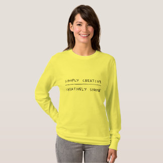 Simply Creative, Creatively Simple T-Shirt