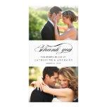 Simply Elegant Wedding Thank You - White
