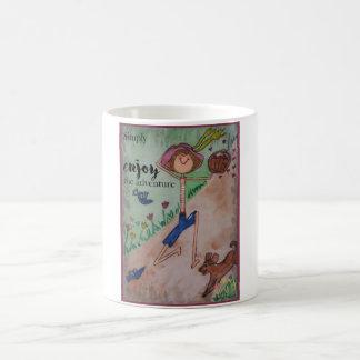 Simply enjoy the adventure coffee mug