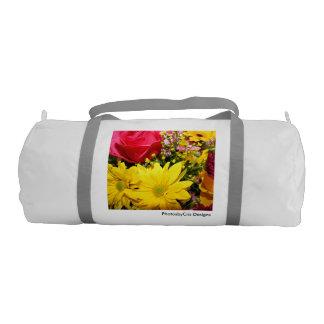 Simply Flowers Gym Bag