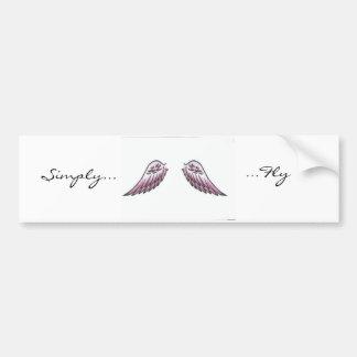 Simply..., ...Fly Bumper Sticker
