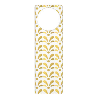 """SIMPLY GOLD"" DOOR HANGER"