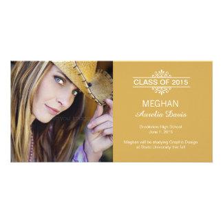 Simply Gorgeous Graduation Announcement Photo Cards