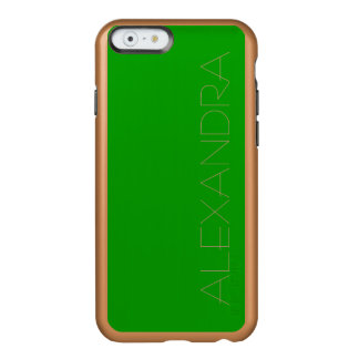 Simply Green Solid Color Incipio Feather® Shine iPhone 6 Case