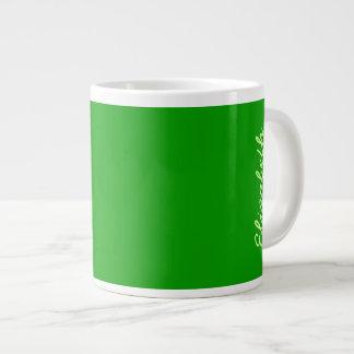 Simply Green Solid Color Jumbo Mug