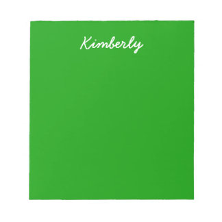 Simply Green Solid Color Note Pads