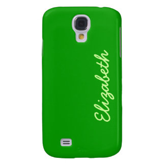 Simply Green Solid Color Samsung Galaxy S4 Cover