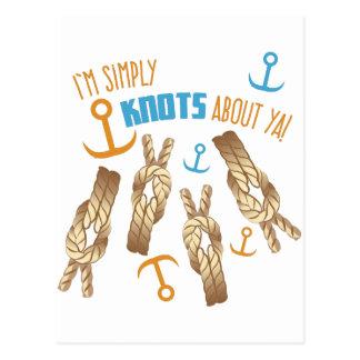 Simply Knots Postcard