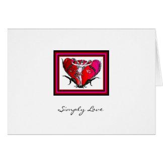 Simply Love - Angel- Greeting Card