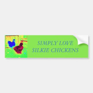 Simply Love silkie chickens Bumper Sticker