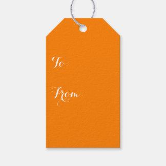 Simply Orange Solid Color