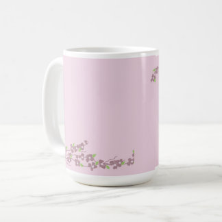 Simply Pink Blossoms Coffee Mug