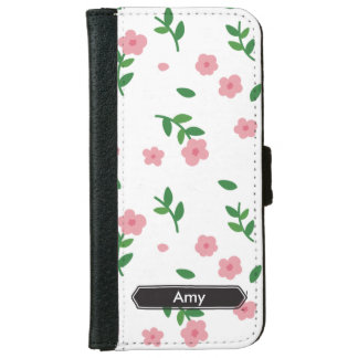 Simply Pink Roses Customizable iPhone 6 Case