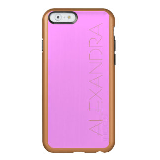 Simply Pink Solid Color Incipio Feather® Shine iPhone 6 Case