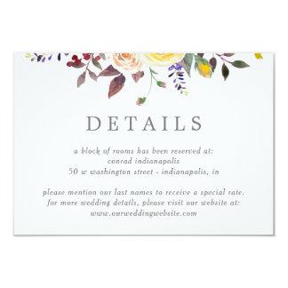 Simply Pretty Wedding Details Enclosure Cards