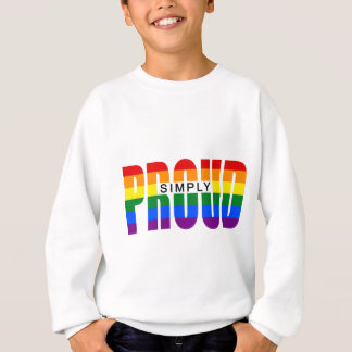 SIMPLY PROUD (Rainbow) Sweatshirt