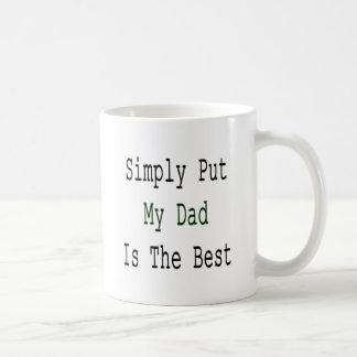 Simply Put My Dad Is The Best Coffee Mug