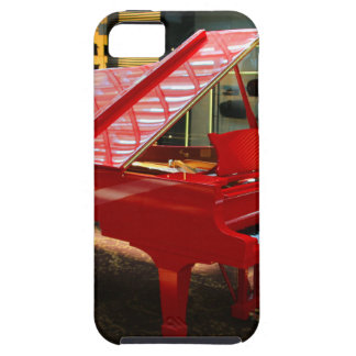 Simply red: grand piano case for the iPhone 5