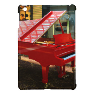 Simply red: grand piano iPad mini case
