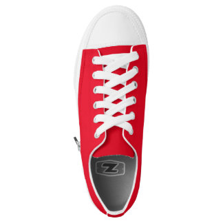 Simply Red Low Top Shoes Printed Shoes