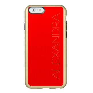 Simply Red Solid Color Incipio Feather® Shine iPhone 6 Case