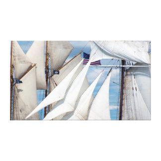 Simply Sails Canvas Print