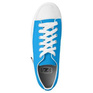 Simply Sky Blue Printed Shoes