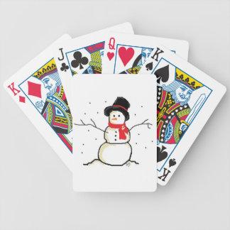 Simply Snowman Poker Deck