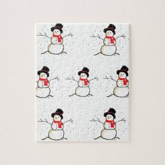 Simply Snowman Puzzle