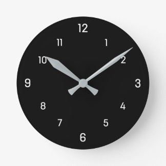 Simply square dials wall clock with white dials