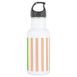 simply stripes mint dusty 532 ml water bottle