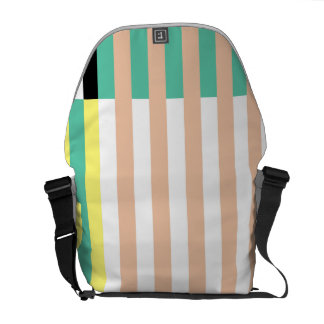 simply stripes mint dusty commuter bag