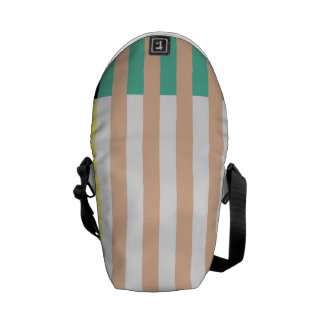 simply stripes mint dusty commuter bags