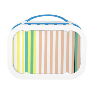 simply stripes mint dusty lunch box