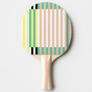 simply stripes mint dusty ping pong paddle
