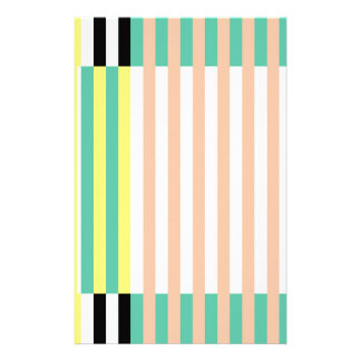 simply stripes mint dusty stationery