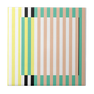 simply stripes mint dusty tile
